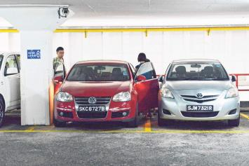 Cars get bigger, but not parking spaces