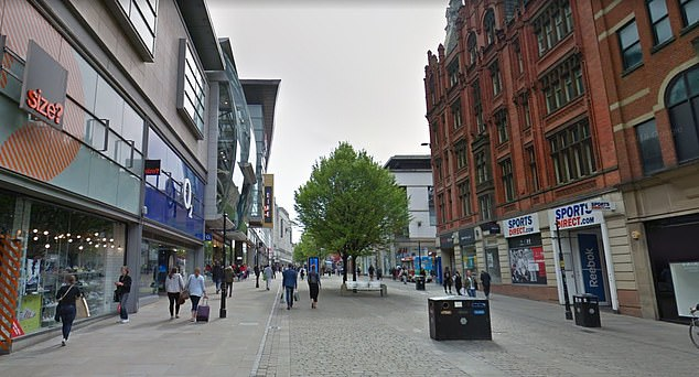 In Manchester (pictured, Market Street in the city centre), Blackpool and Liverpool, there was more than double the number of premature deaths than in the best-off parts of the country