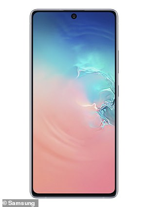 The Galaxy S10 is one of Samsung's most popular models and retails at about $900 making it among the most expensive Samsung phones