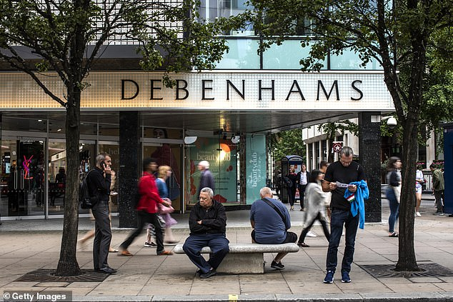 Debenhams is just of the many department stores struggling with diminishing footfall