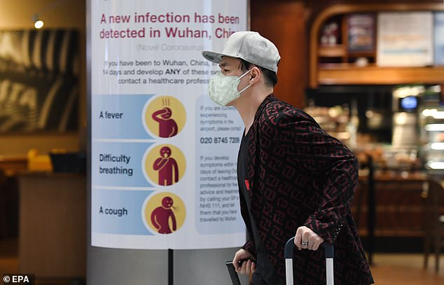 The UK has begun to monitor all flights from the areas affected by the virus