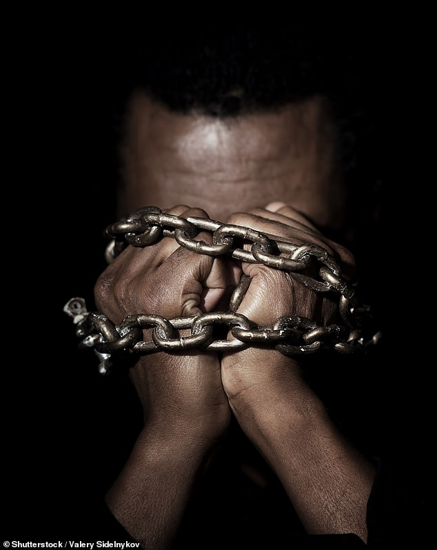 History of discrimination and slavery has resulted in African Americas feeling more pain than whites and Hispanics, a new study claims (stock image)