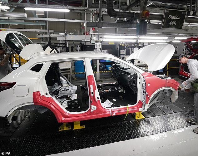 Exports on the up:Over 80 per cent of cars made in Britain are now destined for overseas markets