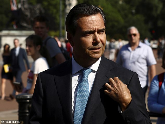 In the money:Lloyds' Antonio Horta Osorio received £4.7million last year