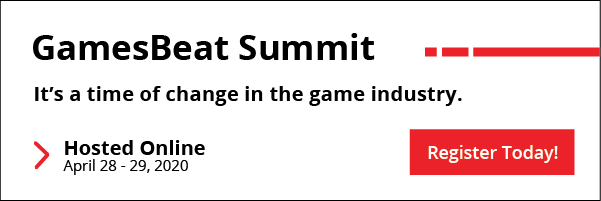 GamesBeat Summit - It's a time of change in the game industry. Hosted online April 28-29.