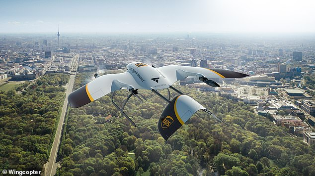 UPS will develop a new fleet of fast and flexible delivery drones with the German tech firm Wingcopter