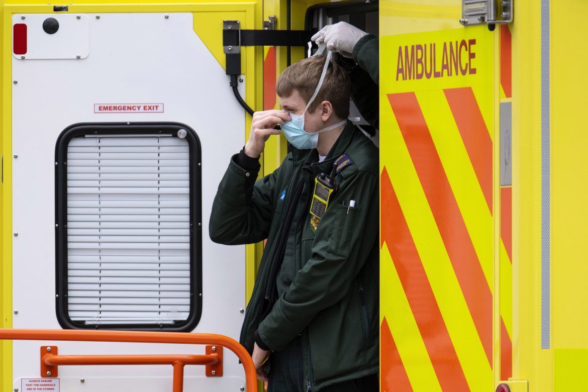 Over half of paramedics who received coronavirus results have tested positive in one force at the West Midlands Ambulance Service