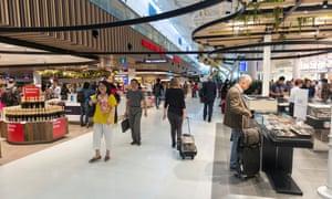 Sydney airport pre-pandemic