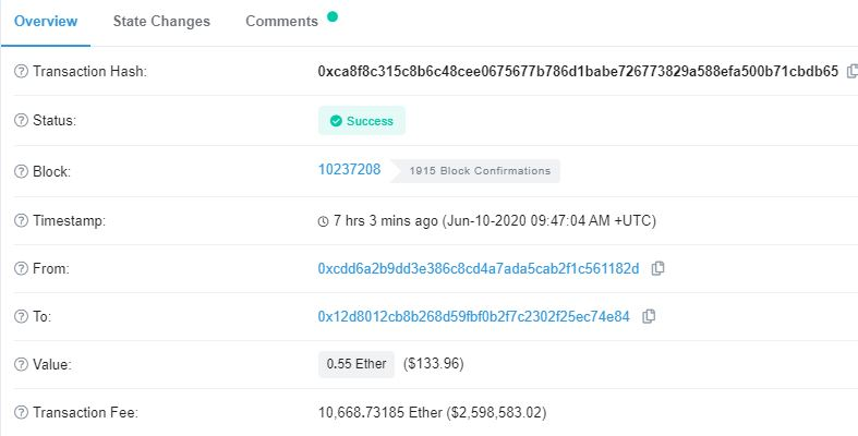 Questions Linger on Why Anyone Would Pay $2.6M in Ethereum (ETH) Fees 10