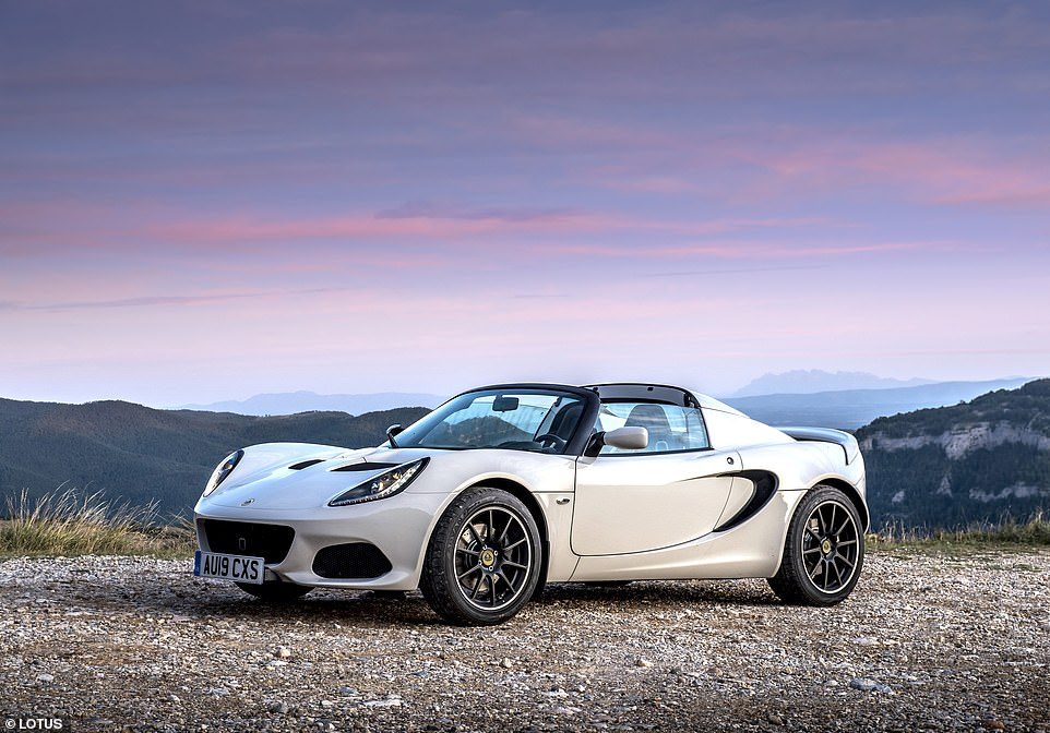 Compact, lightweight and a hoot to drive - the Lotus Elise (pictured, the 220 Sport) is a hair-raising sports car for enthusiastic drivers