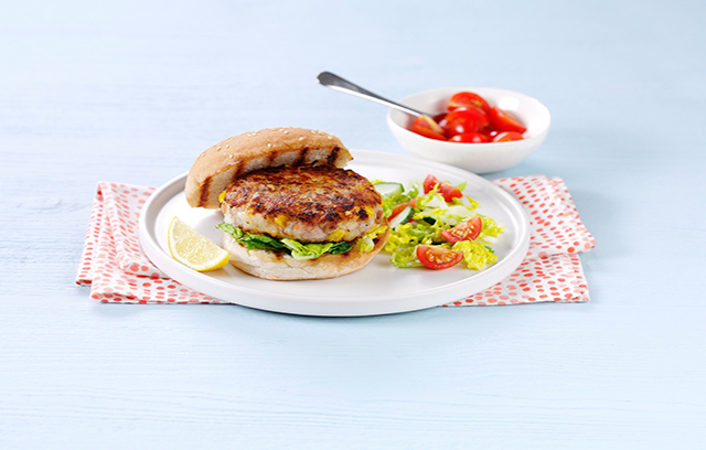Try topping burgers with mayo flavoured with finely grated lemon zest