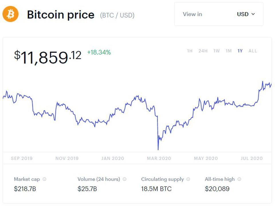 bitcoin, bitcoin price, Dave Portnoy, Winklevoss twins, Gemini, gold, Elon Musk, chart