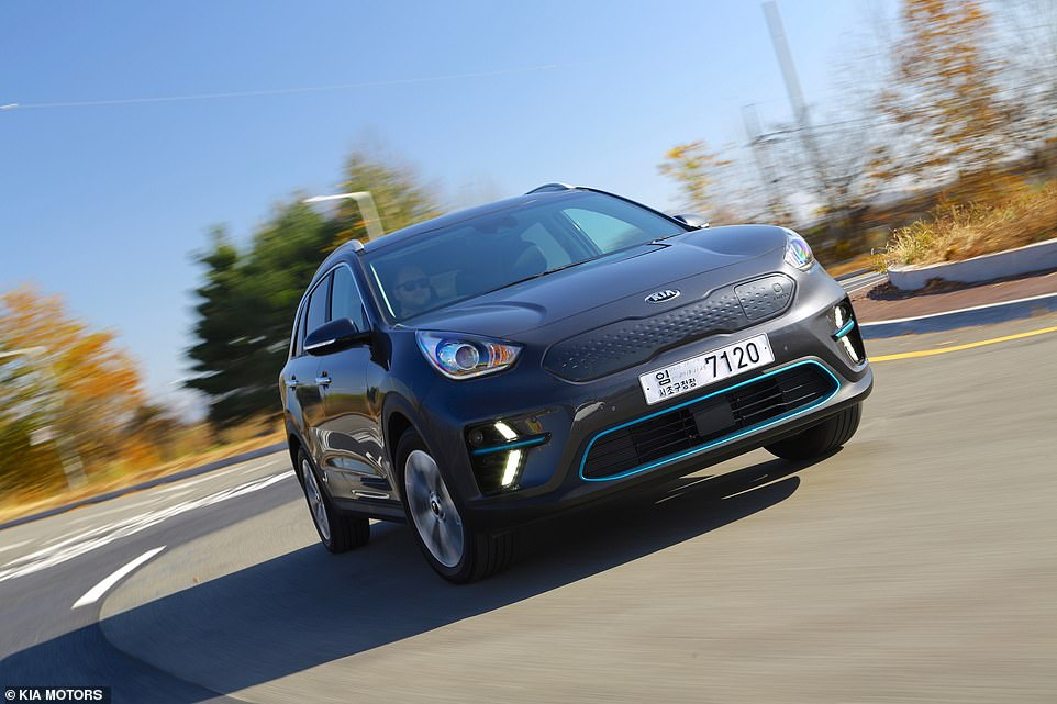 The Kia e-Niro and previously-mentioned Hyundai Kona Electric are sister cars that share the same powertrains. But the Kia claims to have a longer range, though in real world tests is beaten by the Hyundai