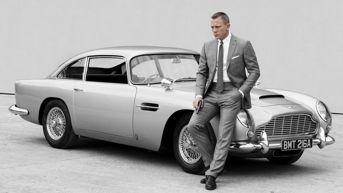 Aston Martin has created 25 replicas of the classic DB5 driven by Daniel Craig in up-coming movie No Time To Die