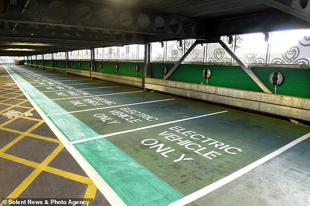 Mr Shapps haspropose for local authorities to paint parking spaces green in their busiest locations to reserved them exclusively for EVs as part of widening incentives for zero-emission cars
