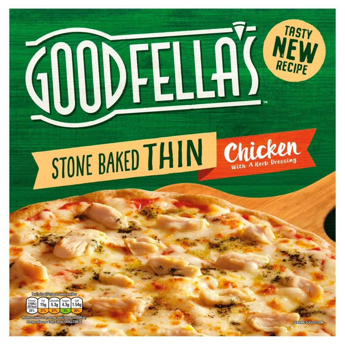 Head to groceries.morrisons.com to get a second Goodfella's pizza for free