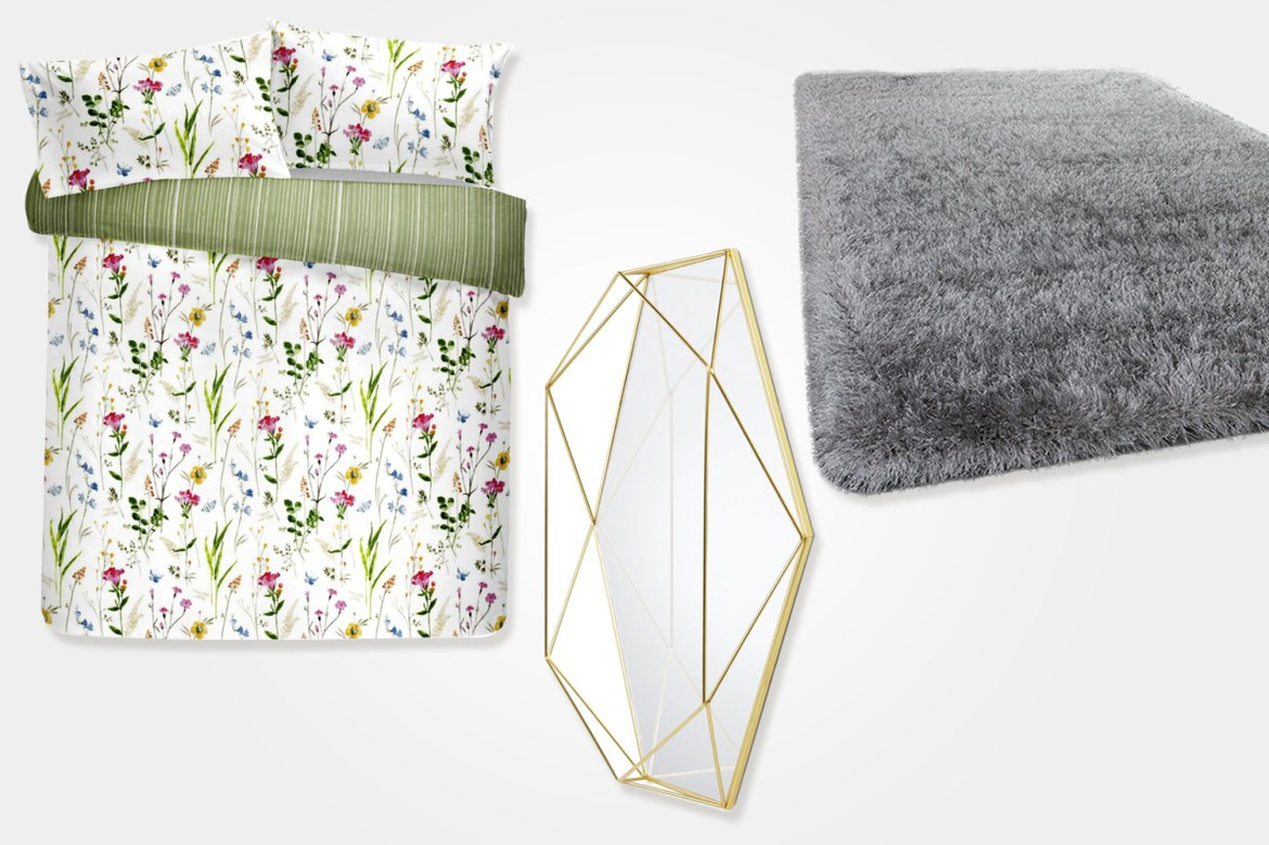 You can bag a mirror or soft furnishings for less