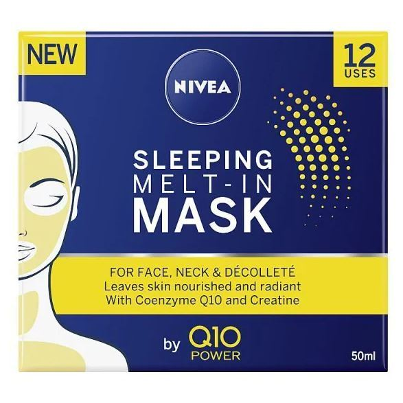 Nivea Q10 Power Sleeping Mask is now half price at Superdrug