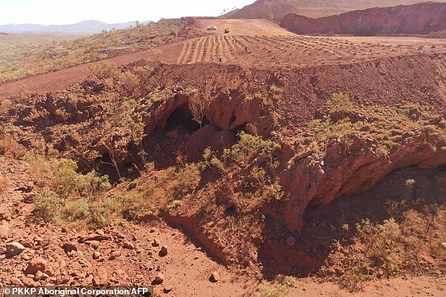 Rio Tinto bossJean-Sebastien Jacques was forced to quit last week following a backlash after the miner blew up ancient caves in Pilbara, Western Australia (pictuerd), earlier this year