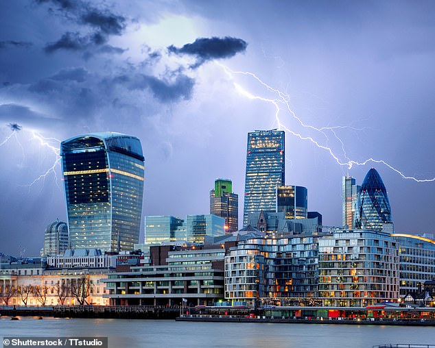 Gathering storm:The UK has weathered the first leg of a Category Five economic hurricane