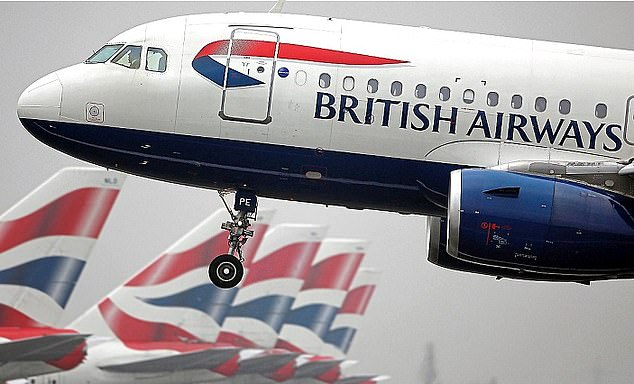 Nose dive: IAG, which owns three European airlines, including our flag-carrier BA, is ranked lower in the pecking order than a fast food delivery business