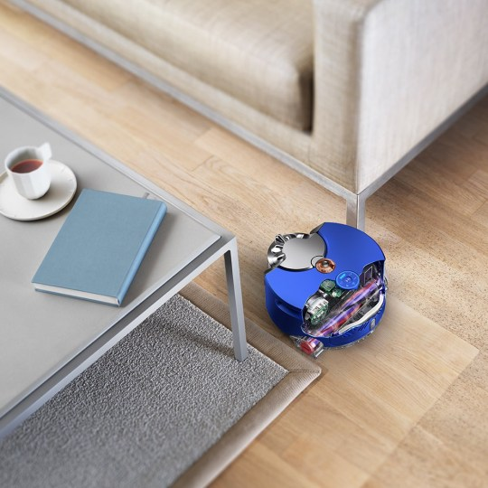 This little automatic 'bot from Dyson will save you precious hours of vacuuming (Dyson)