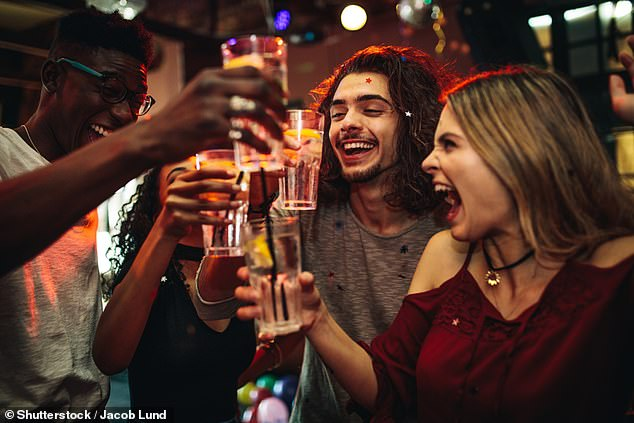 Although having a drink with friends can boost your mood, alcohol is a cognitive depressant, meaning it slows down your brain activity