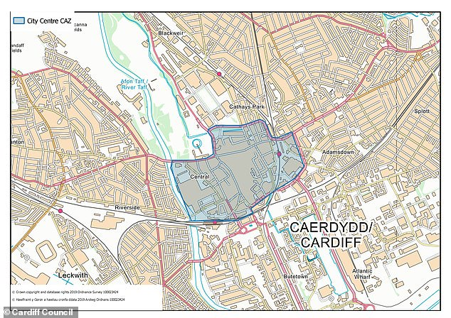 There have been proposals for a Cardiff Clean Air Zone that would have seen drivers of older cars hit with a £10-a-day charge