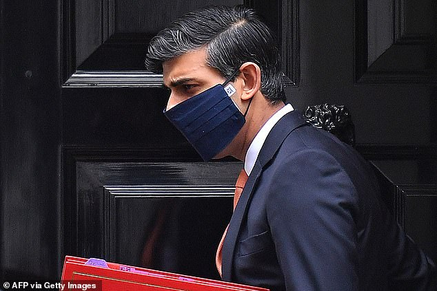 Chancellor Rishi Sunak (pictured yesterday) said the situation would be 'far worse' if the government had not taken action