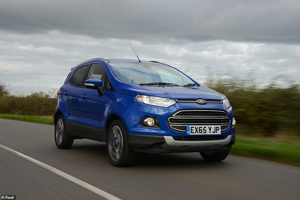 The Ford EcoSport isn't all that popular in the UK. However, only 4% of those with older versions with extended warranties needed to make a claim in the last 5 years