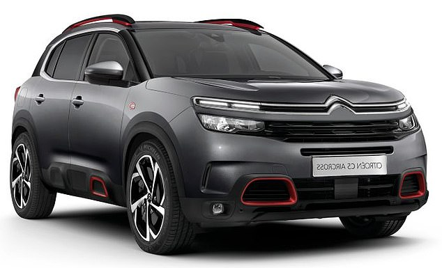 The Citroen C5 Aircross offers considerable manoeuvrability despite its large size