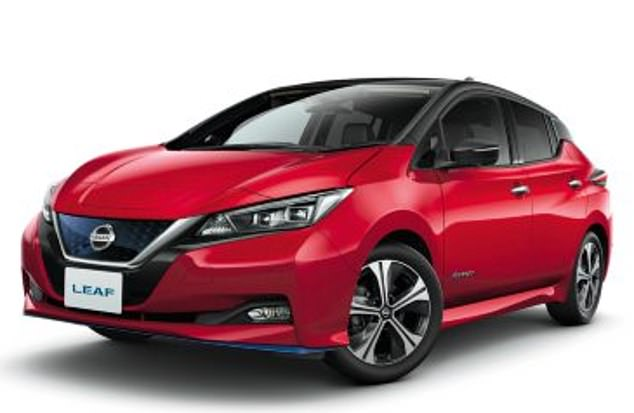 Nissan LEAF (pictured) has increased with power and become more hi-tech with the second generation five-seater