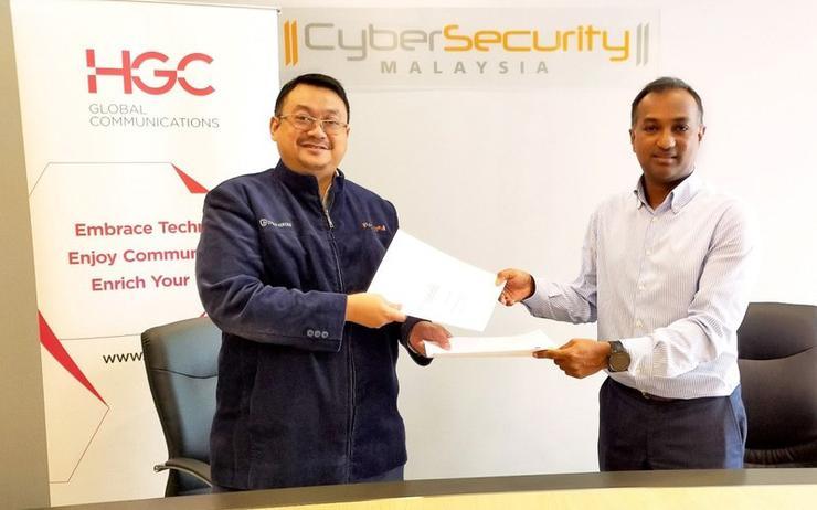 Dr. Haji Amirudin Bin Abdul Wahab (CyberSecurity Malaysia) and Ravindran Mahalingam (HGC)