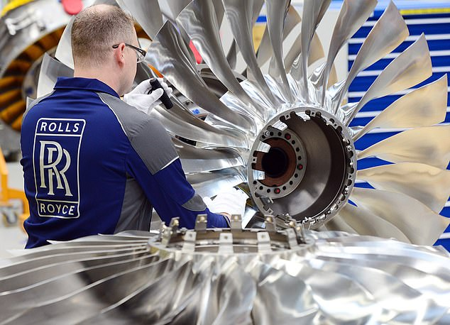 Cash call: Rolls-Royce'sbond sale was part of a plan to raise £5bn through a package that also includes securing government financing and going cap in hand to shareholders