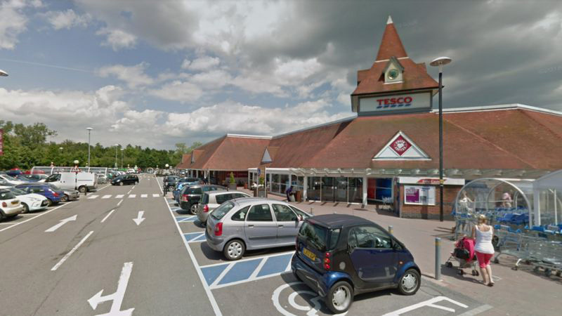 Tesco's Bracknell North Superstore displayed food past its sell-by date