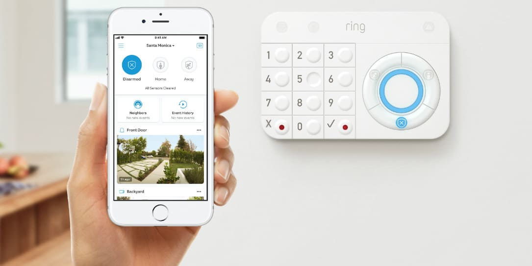 Ring Alarm security systems