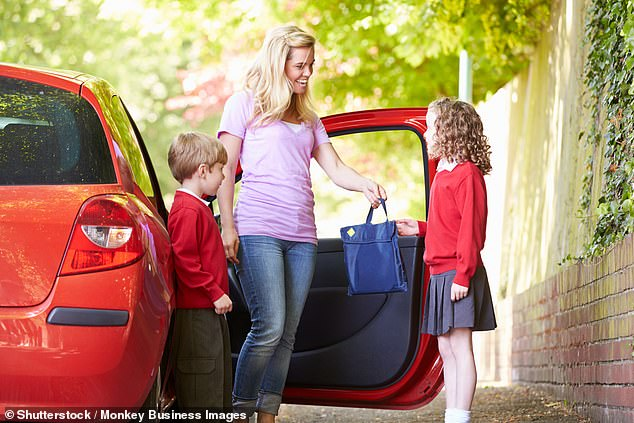 With education continuing during the second lockdown in England, parents will still be able to drive their kids to school