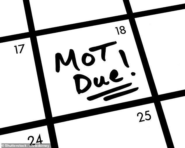 The DVSA says it is still working with the government to decide what the best next steps are for motorists who have MOT tests due in November