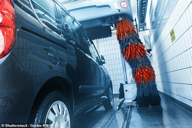 Car washes will be closed around England during the second lockdown - even those that are automated with no staff required to operate them