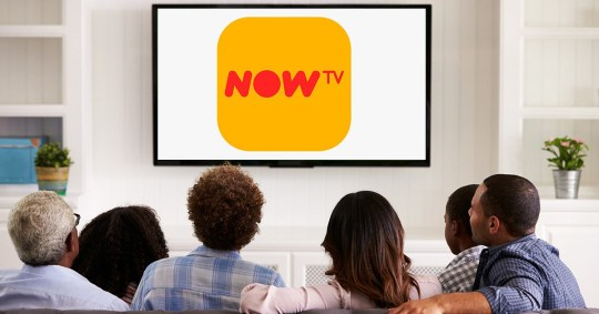 Family watching Now TV