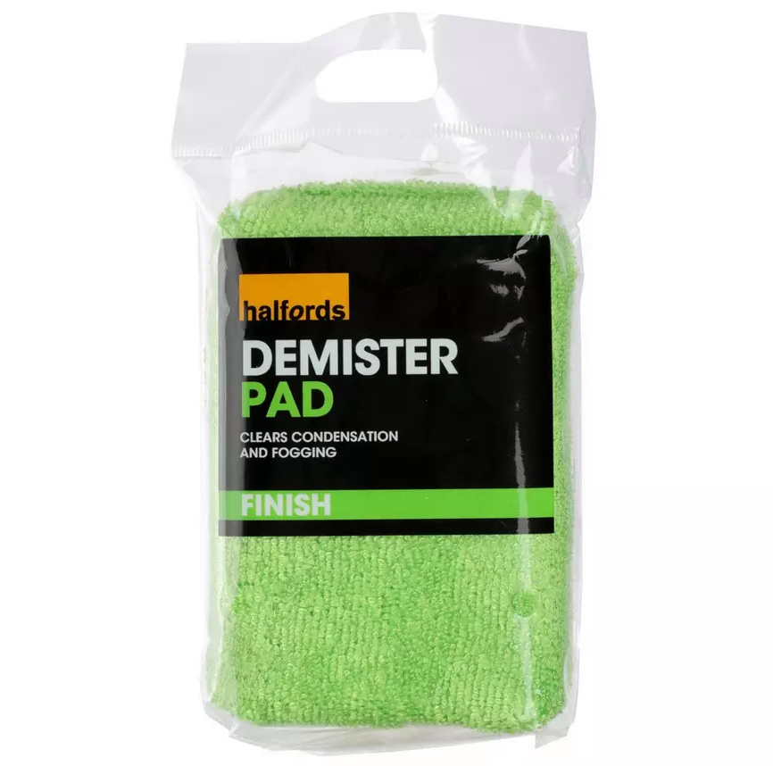 Why spend £3 on the demister pad at Halfords...