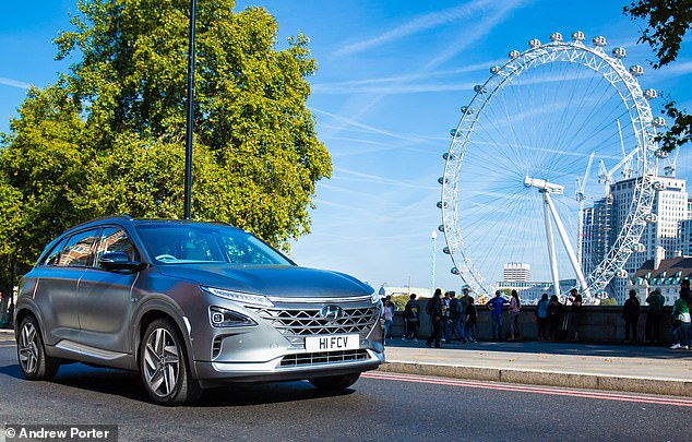 Hydrogen fuel-cell champion Hyundai aims to leapfrog the battery-technology of electric cars with its new Nexo
