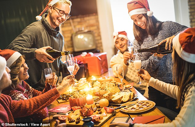 Grandchildren can pull a cracker with both sets of grandparents, deliver presents to relatives on the other side of the country and, perhaps most counter-intuitively, even share hugs. Pictured: Stock image