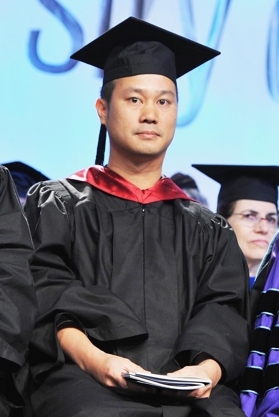 Tony Hsieh at the Fashion Institute Of Technology 2011 Commencement