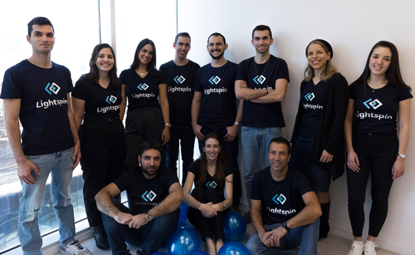 The Lightspin team. Photo: Lihi Binyamin/Lightspin