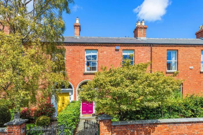 A four-bedroom house in Rathmines, Dublin 6, €1.2m through Knight Frank