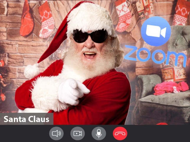Father Christmas will be available via Zoom this year