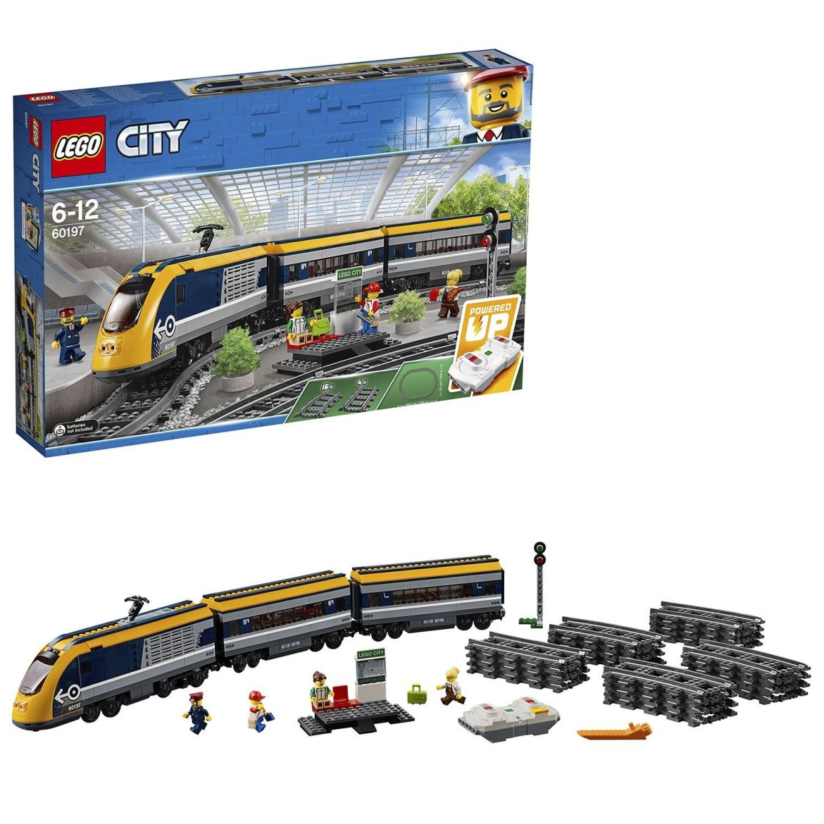The Lego City train set just went on sale