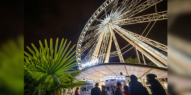 Costes Restaurant partnered with the Budapest Eye ferris wheel to bring a unique socially-distanced dining experience during the coronavirus pandemic.