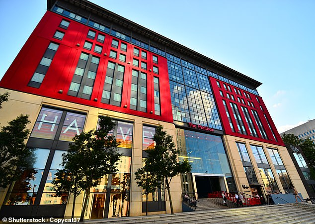 Asset: Mailbox REIT owns the Mailbox building in Birmingham city centre - a former Royal Mail sorting office that has been transformed into a 698,000 square foot office-led development